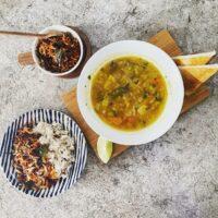 スリランカ風野菜スープ