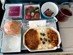 スリランカ航空機内食