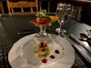 シッダーレパホテルのディナー